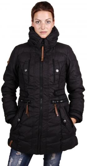 naketano wintermantel mantel mutantina ii schwarz ebay. Black Bedroom Furniture Sets. Home Design Ideas