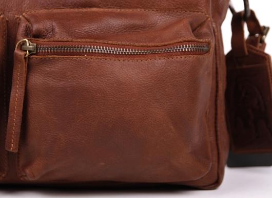 legend bag tasche handtasche leder alabama braun ebay. Black Bedroom Furniture Sets. Home Design Ideas